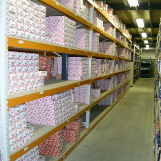 Bays available of Apex Longspan Shelving