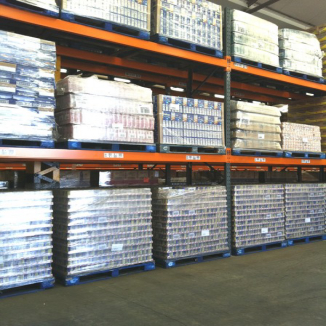 Pallet Racking - Secondhand Dexion Racking 8-10 metres Tall